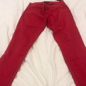 Aqua skinny jeans